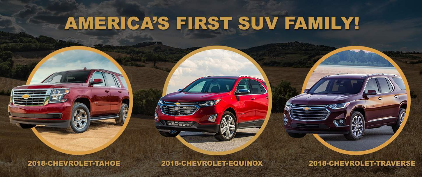 SUVs at Jack Burford Chevrolet