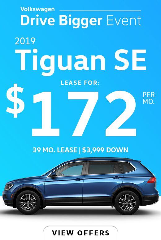 2019 Tiguan 2.0T SE