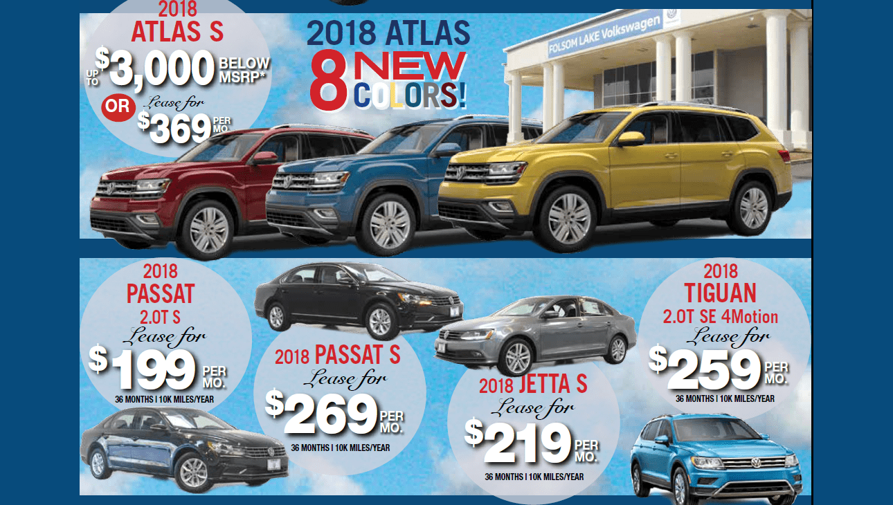 April Atlas Passat Jetta Tiguan Offers