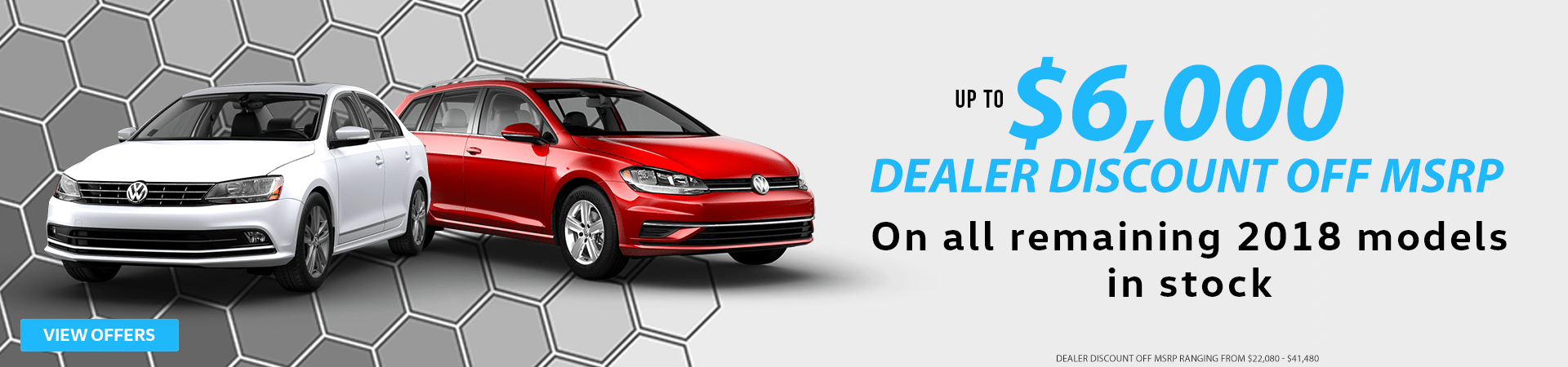 Golf Sportwagen & Jetta Dealer Discount