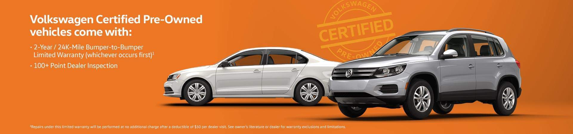 VW Certified Pre-Owned: Go with Confidence!