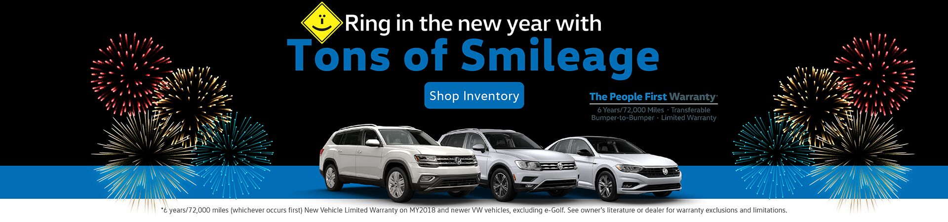Ring in the New Year with huge Capo VW discounts!