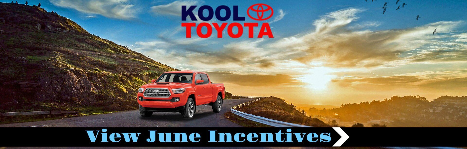 June Incentives at KOOL TOYOTA