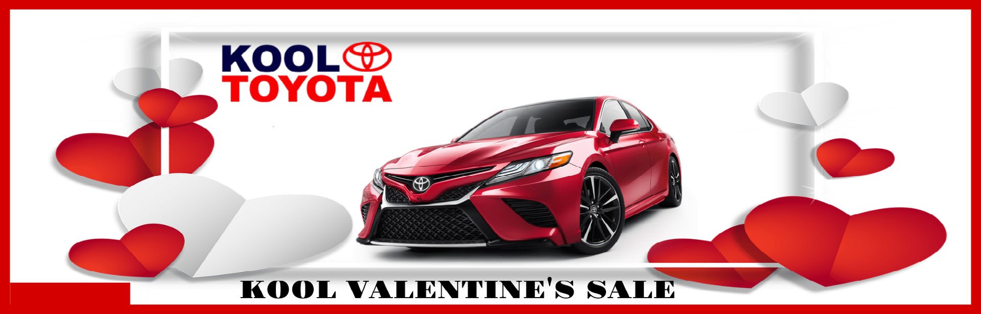 Valentines Day at KOOL TOYOTA