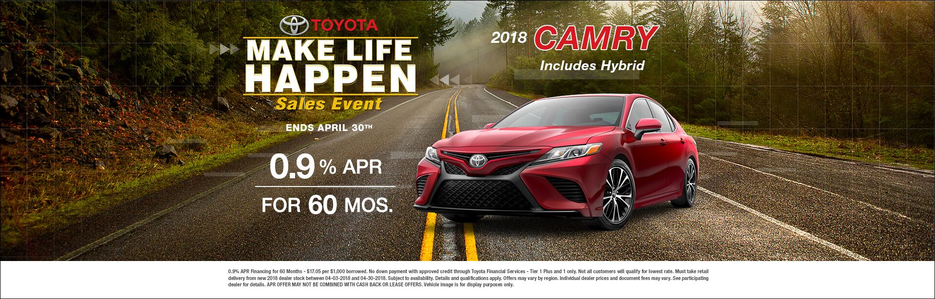 Make Life Happen Camry