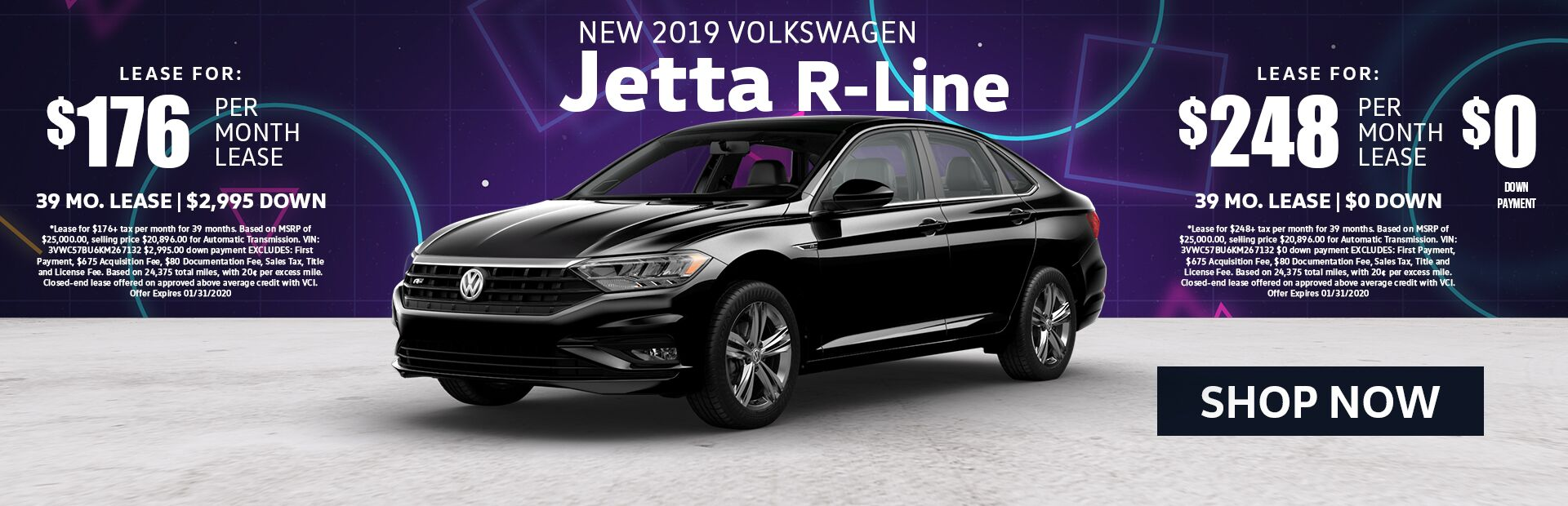 New 2019 Jetta R Line Lease Specials