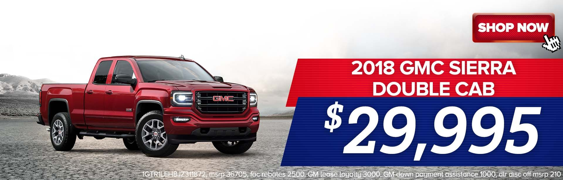 Nov 2018 GMC Sierra Double Cab
