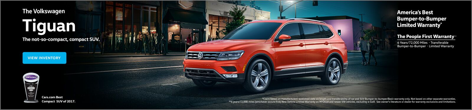 Updated Tiguan