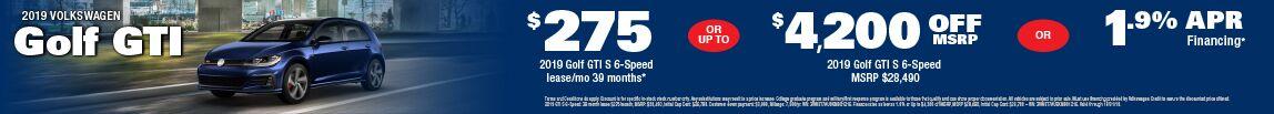 Oct Golf GTI
