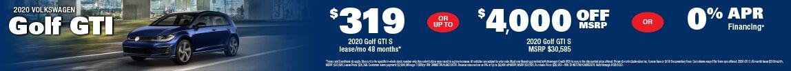 2019 Volkwagen Golf GTI at Carter VW in Seattle, WA