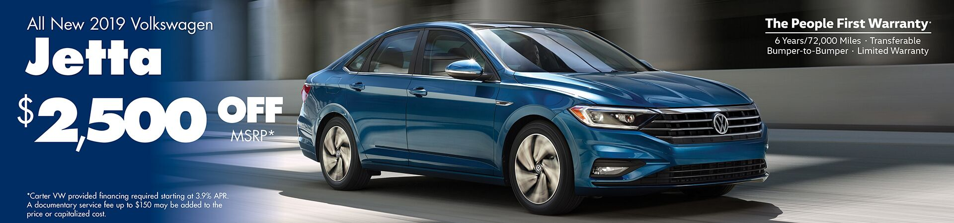 All New 2019 Volkswagen Jetta Special in Seattle