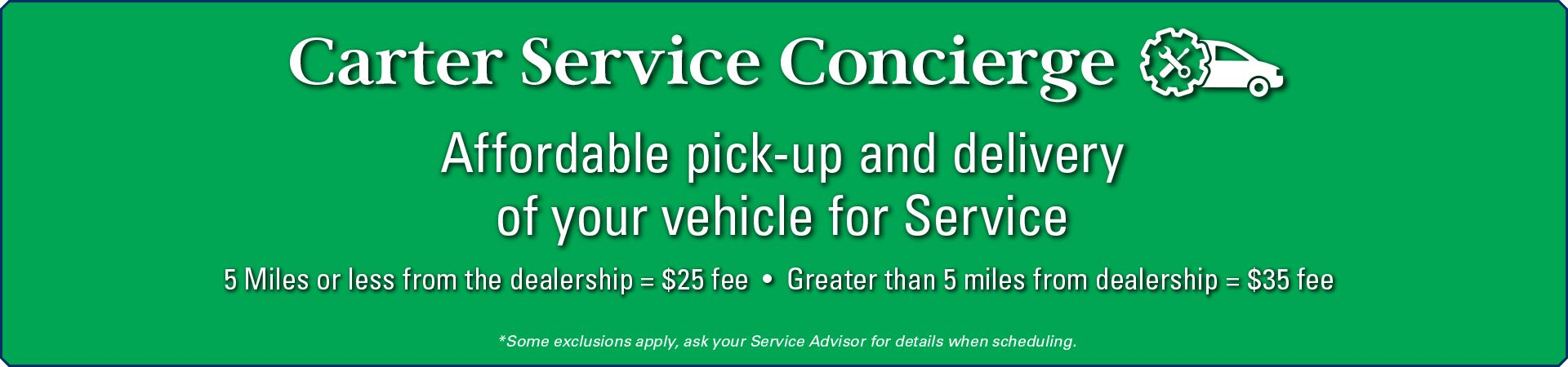 Carter VW Service Concierge