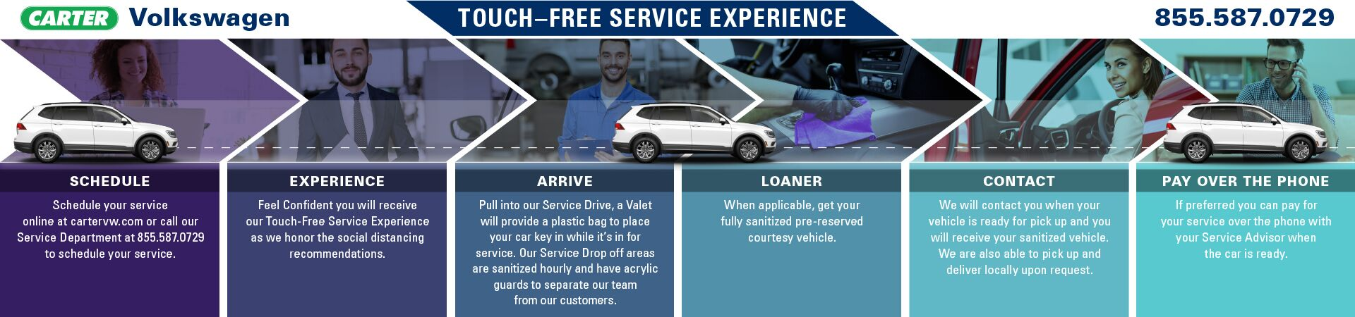 Touch-Free Service Experience