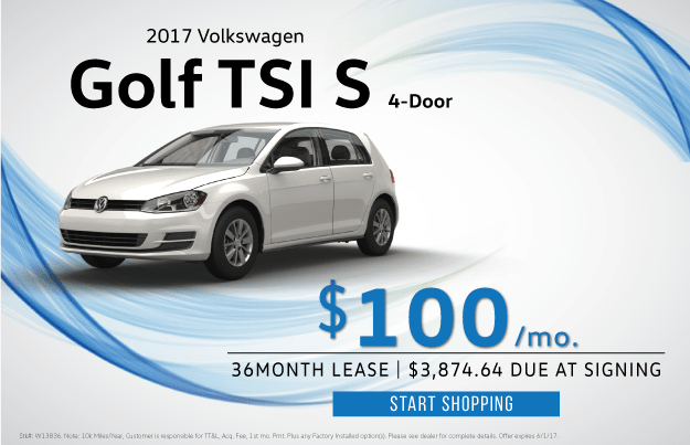 2017 Volkswagen Golf TSI S 4-Door