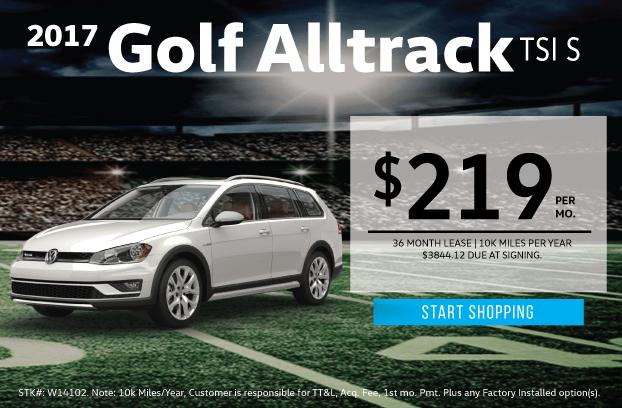 2017 Volkswagen Golf Alltrack TSI S