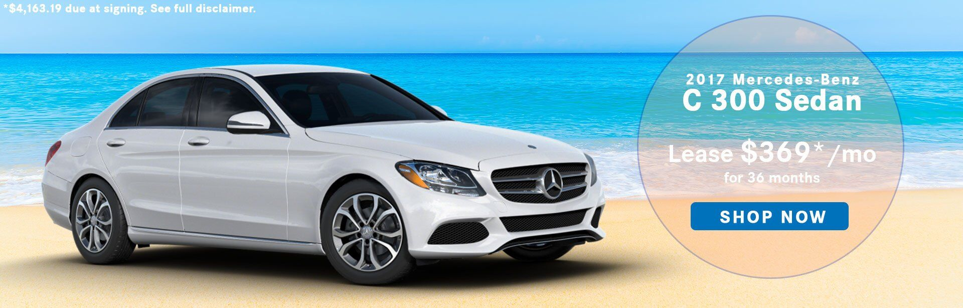 C-Class Lease Special