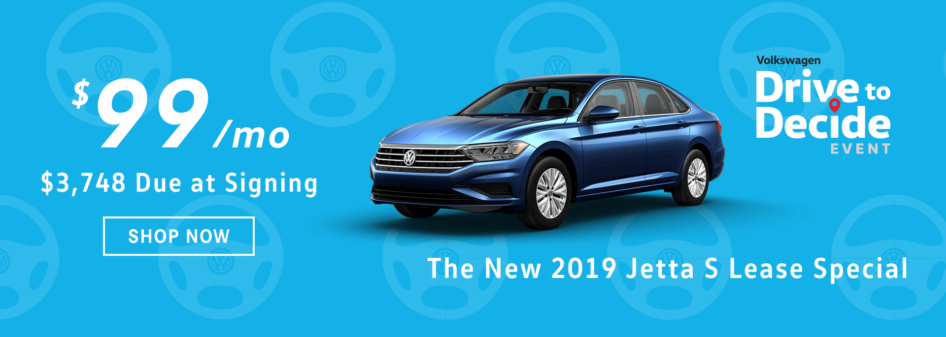2019 Jetta S Lease Special