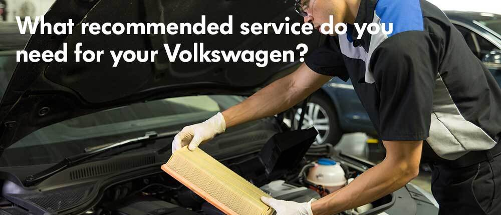 VW Recommended Service