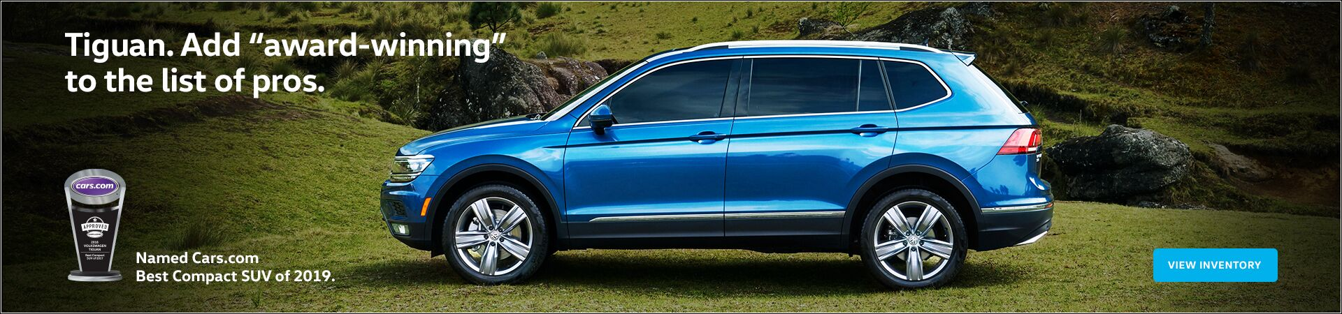 Tiguan Cars.com Best Compact SUV of 2019