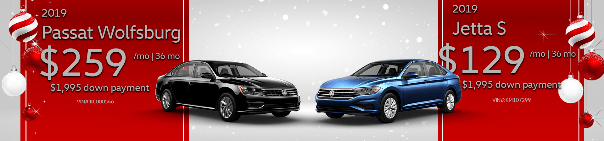 December 2018 Passat & Jetta Offer