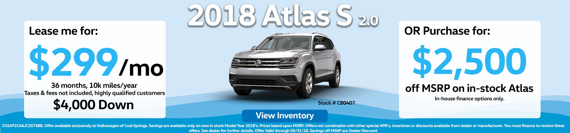 Atlas Offer May