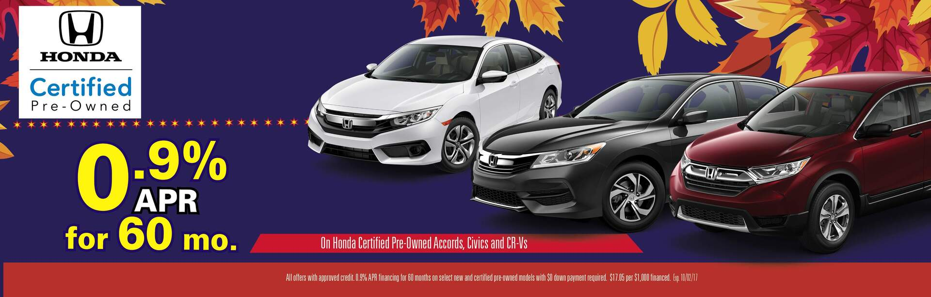 Certified Pre-Owned APR Special