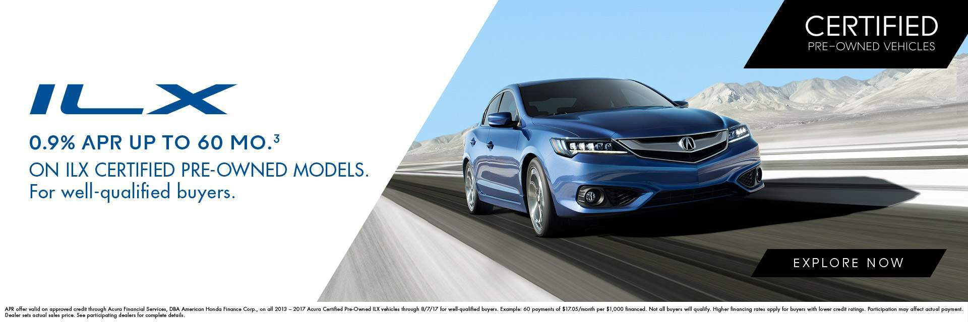 Certified Pre-Owned ILX