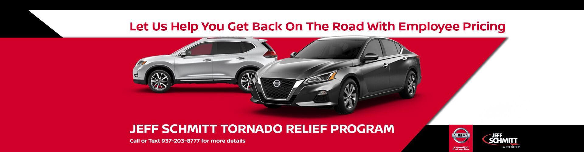 Jeff Schmitt Nissan Tornado Relief Program