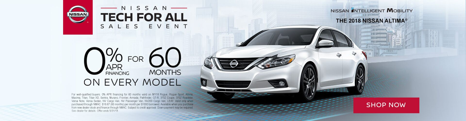 2018 Nissan Altima Tech for All