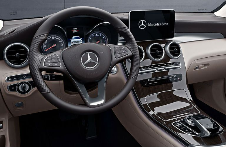 2018 GLC Coupe steering wheel