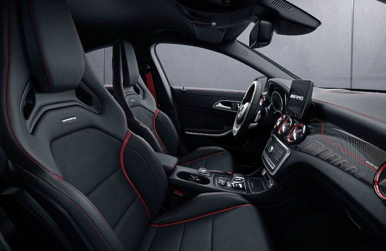 2018 AMG® CLA 45 Coupe front seats