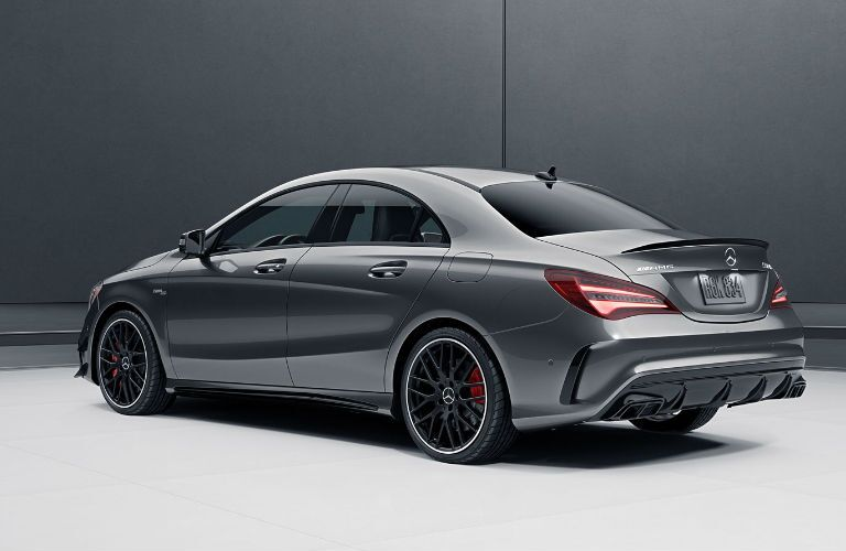 2018 AMG® CLA 45 Coupe black back