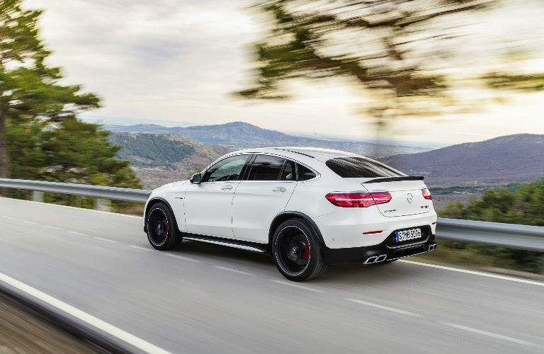 2018 AMG® GLE 43 white side view
