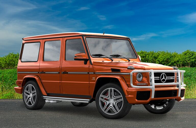 2018 Mercedes-Benz G-Class in orange