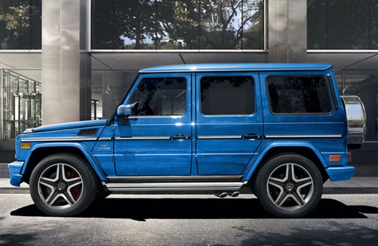 2018 Mercedes-Benz G-Class in blue