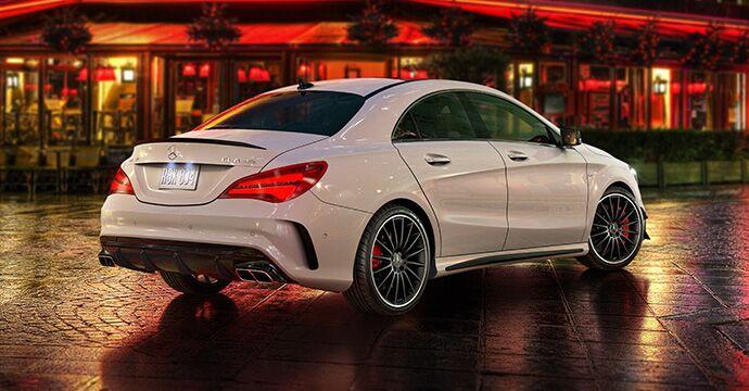 2019 CLA AMG® 45 Coupe