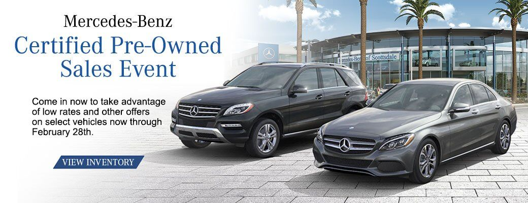 Mercedes-Benz CPO Event Sale