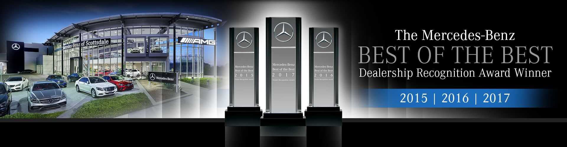 2015 | 2016 | 2017 Mercedes-Benz Best of the Best Dealership Award Winner