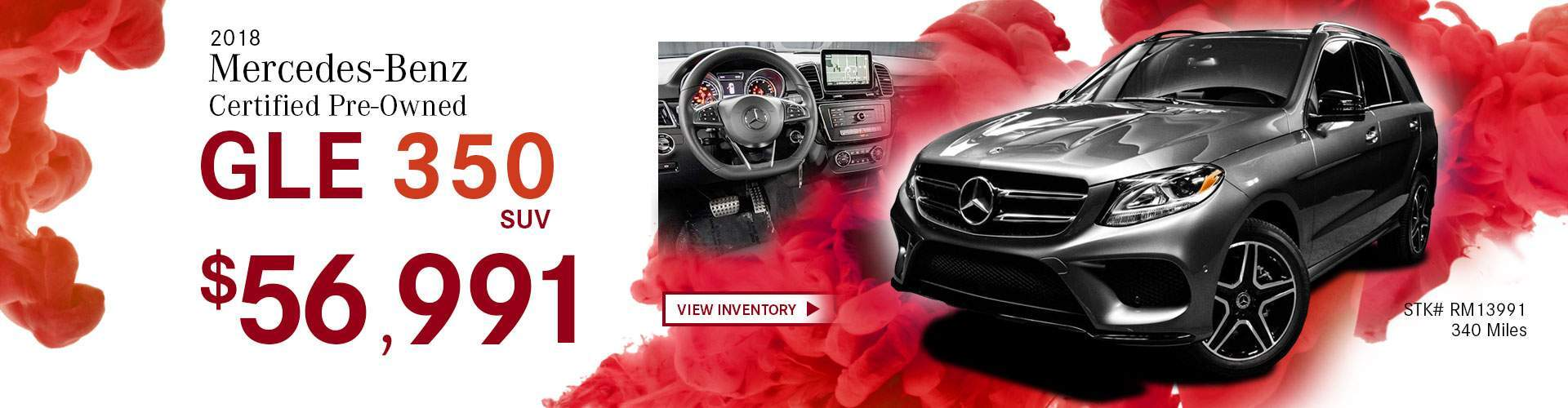2018 Mercedes-Benz Certified Pre-Owned GLE 350 SUV