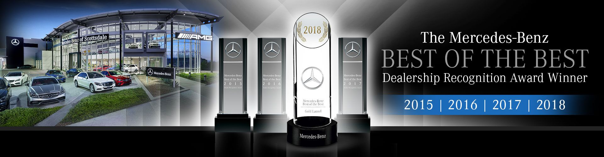2018 Mercedes-Benz Best of the Best Dealership Award Winner