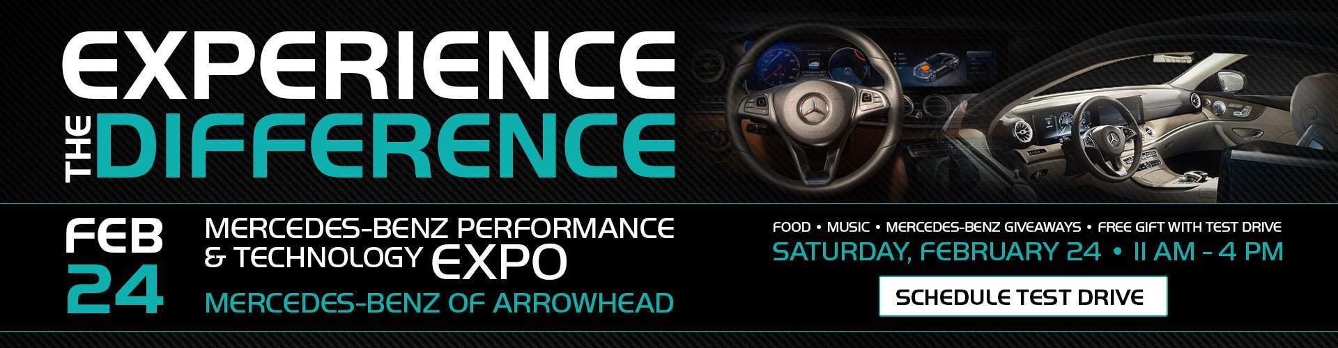 Experience the Difference at Mercedes-Benz Performance & Technology EXPO