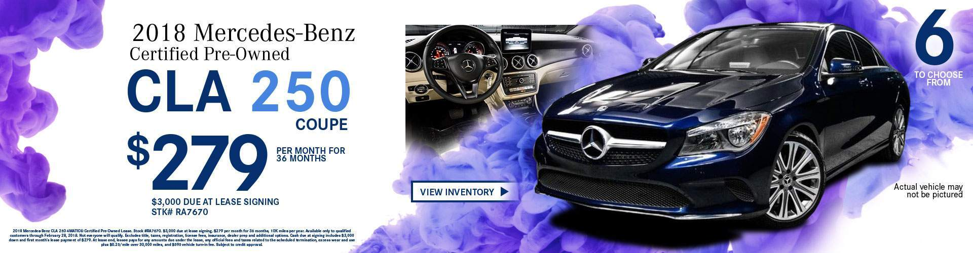 2018 Mercedes-Benz Certified Pre-Owned CLA 250 4MATIC Coupe
