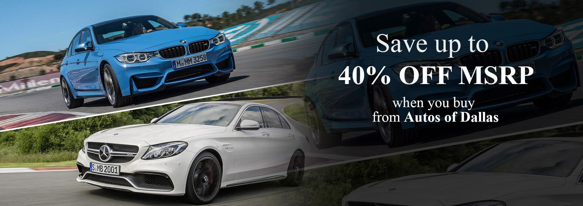 40% Off Late Model Vehicles at