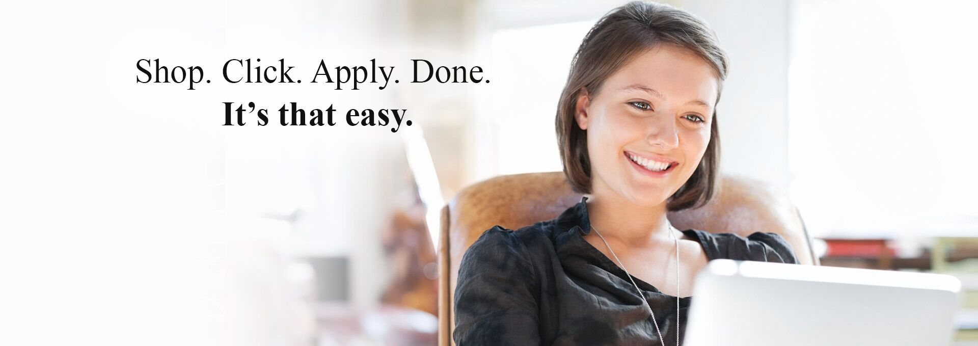 Shop. Click. Apply. Done. It's that easy at Autos of Dallas