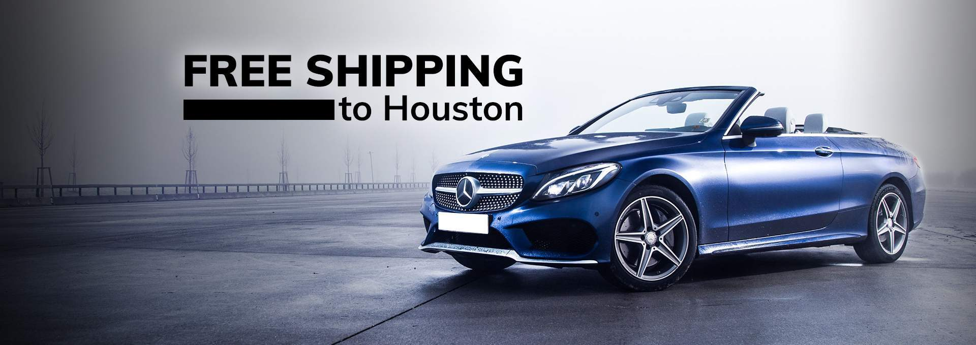 Free Shipping to Houston