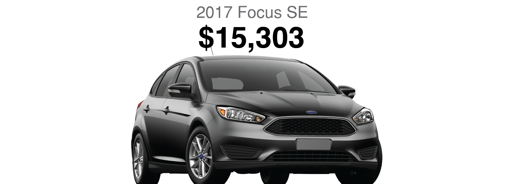 Save Over 20% OFF MSRP on 2017 Ford Focus
