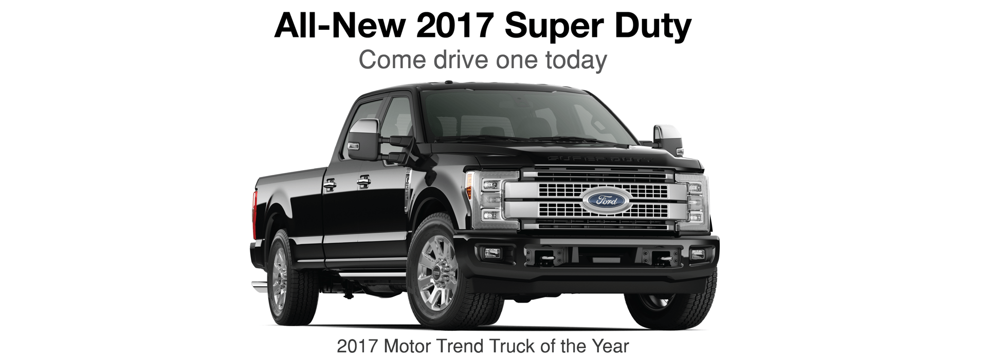 The all-new 2017 Ford Super Duty
