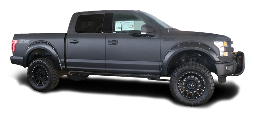 2016 F-150 with Full Body Wrap