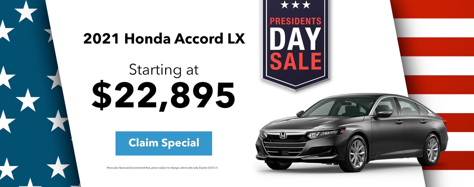 2021 Honda Accord Special