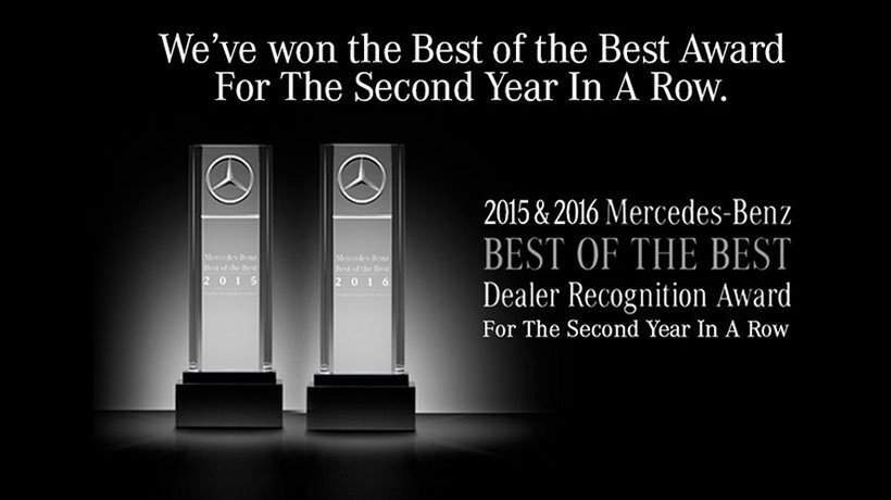 Mercedes-Benz of South Mississippi is a 2015 and 2016 Mercedes Benz Best of the Best Dealer